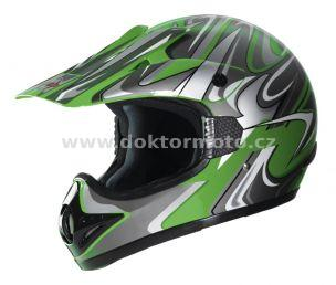 Cross Helm CR2 STREAMLINE GREEN -  Größe XXL