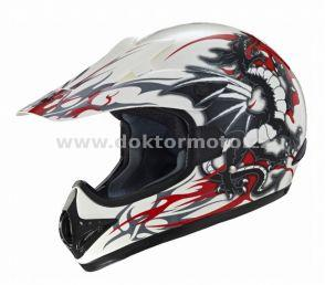 Cross Helm CR2 BLACK DRAGON -  Größe XXL