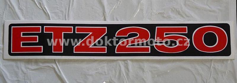Kasten Aufkleber Etz 250 Schwarz Weiß Rot Nicht